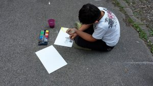 Kunst am Nachmittag Barkhovenalle_3